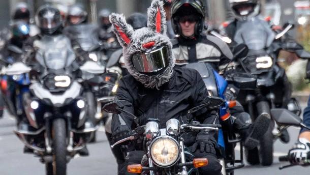 Ein Herz für Motorradfahrer