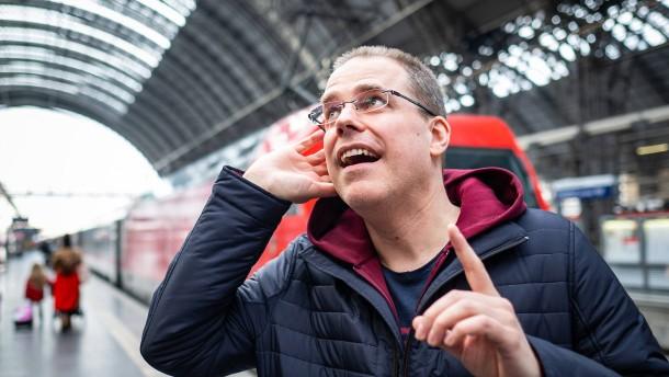 Bahnansager aus Hessen auch in Heimat zu hören