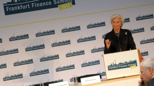 Madame Lagarde hält eine charmante Standpauke