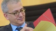 Erklärt umstrittene Stromtrasse Suedlink für unverzichtbar: Minister Al-Wazir (Die Grünen)