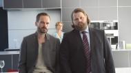 """Duo: Wanja Mues und Antoine Monot jr. (rechts) ermitteln in Frankfurt für """"Ein Fall für zwei"""""""