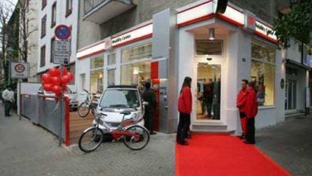Deutsche Bahn Deutschlands erstes DB Mobility Center