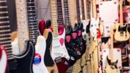 Hängepartie: Gitarrenbauer Fender ist dieses Jahr nicht auf der Musikmesse vertreten