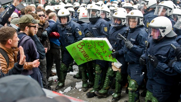 Kennzeichnung für Polizisten