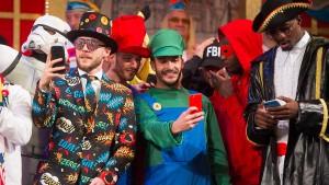 Der Karnevalsverein feiert Fastnacht