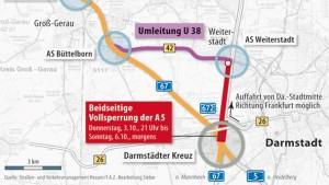 Autobahn 5 für zweieinhalb Tage gesperrt