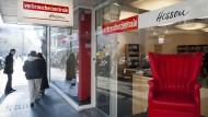 Anlaufstelle: der Beratungsort der Verbraucherzentrale Hessen in der Frankfurter Innenstadt