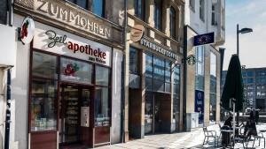 Die Mohren-Apotheke gehört zu Frankfurt