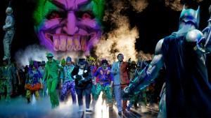 Im Batmobil durch Gotham City