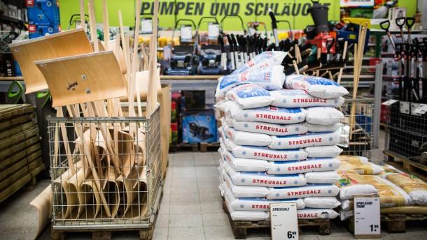 Winter - Ist der Frankfurter Einzelhandel auf den kommenden Winter vorbeireitet?