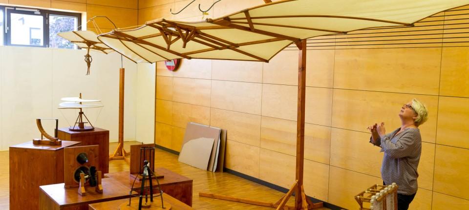 Oestrich Winkel Zeigt Eine Da Vinci Ausstellung