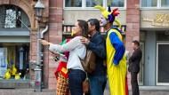 Frankfurt will gegen Bettlerbanden vorgehen