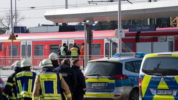 Rucksack sorgt für S-Bahn-Räumung