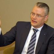 Hat weniger Strom verkauft: Mainova-Chef Constantin Alsheimer