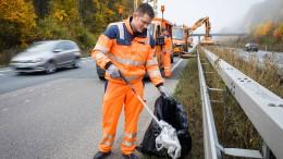 Müll an Straßen verursacht immer höhere Kosten