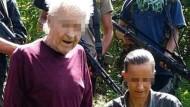 Auf Philippinen entführte Deutsche flehen um Hilfe
