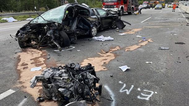 Ursache für Unfall auf A5 geklärt