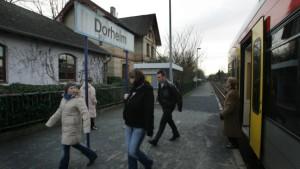 Lokführer der Hessischen Landesbahn streiken