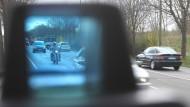 Besonders Motorradfahrer hat die Polizei beim Blitz-Marathon im Visier