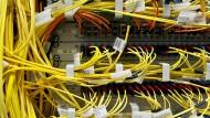 In Spitzenzeiten durchlaufen den Internet-Konten von De-Cix fünf Terabyte Daten pro Sekunde.