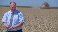 """""""Die Weizenernte wird auch dieses Jahr nicht sio toll"""": Hessens Bauernpräsident Karsten Schmal"""