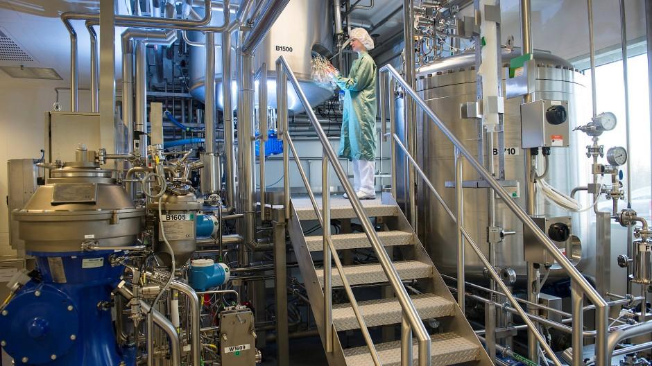 Hightech: Die Zellkulturanlage für Antikörper von Sanofi in Frankfurt wird noch wichtiger
