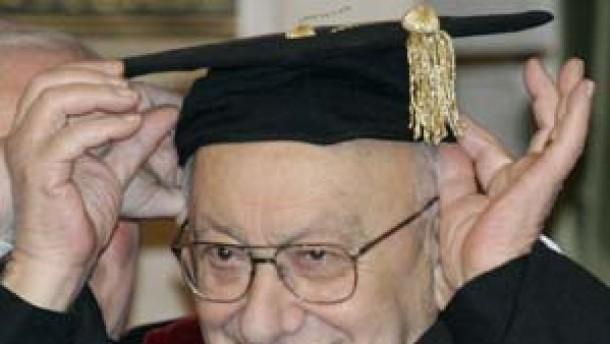 Reich-Ranicki Ehrendoktor der Universität Tel Aviv