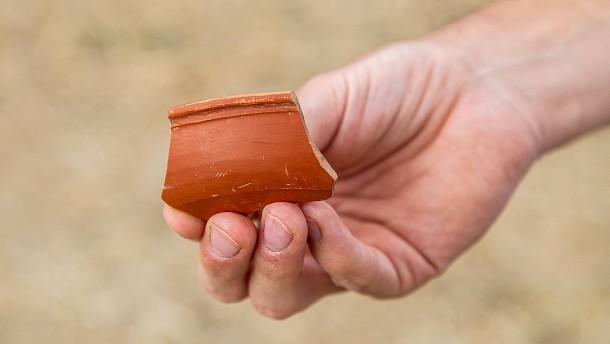 Mit Drohnen römische Relikte entdeckt