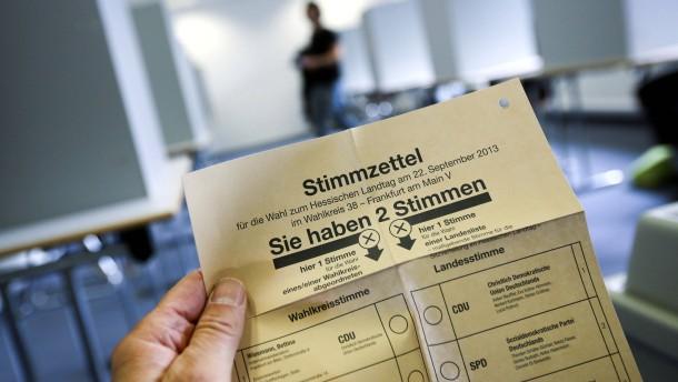 Mehr als 40 Prozent der Hessen haben schon gewählt