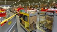 Hier arbeiten von September an auch fünf Flüchtlinge: Amazon in Bad Hersfeld