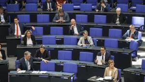 Die SPD wandert weiter nach links