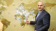 Der Fluglinien-Chef und sein Netz: emel Kotil, Chef derTurkish Airlines