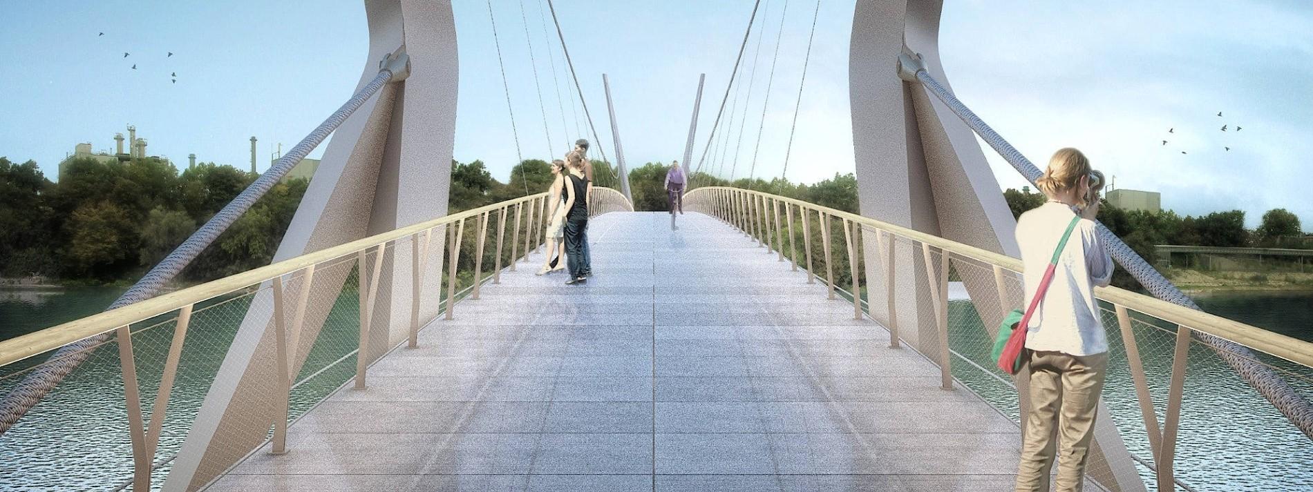 Eine Brücke für Radler