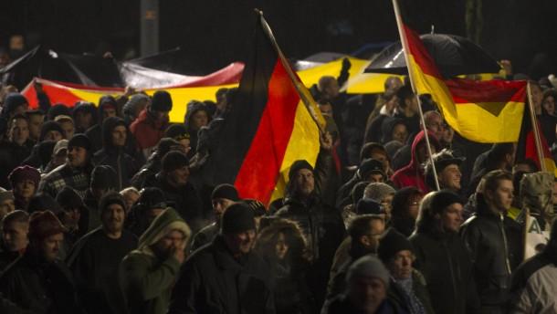 Fragida-Demonstration steht auf der Kippe