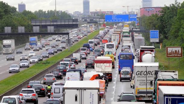 Frankfurt wird überrollt