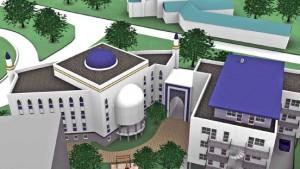 Grundsteinlegung für Hausener Moschee
