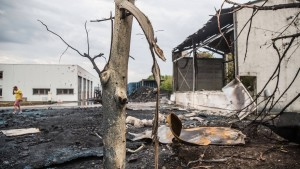 Gastank-Explosion: Ermittler vermuten Brandstiftung