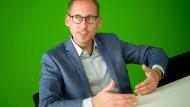 Selbstbewusst in den Kommunalwahlkampf: Grünen-Chef Kai Klose
