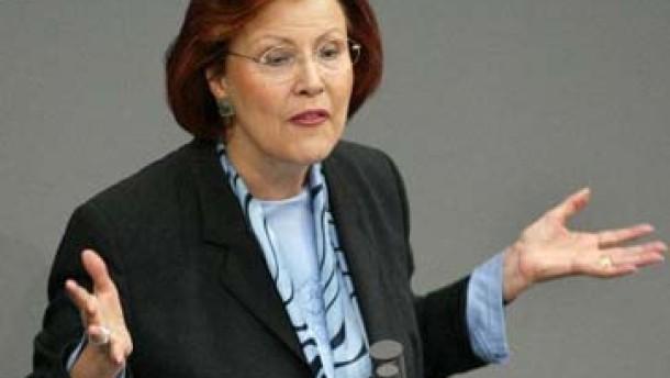 Wieczorek-Zeul will Soziale Marktwirtschaft vor der CDU schützen