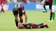 Am Boden: Sonny Kittel hat es schon wieder erwischt. Die Verletzung ist schlimm – und ein weiterer Rückschlag in seiner Karriere.