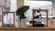 Papierloses Drucken: Für diesen Schädel eines Dinosauriers braucht man einen speziellen Kunststoff, der dann meist von einem Laser erwärmt wird.