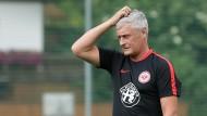 Wird das was? Armin Veh bleibt noch ein Monat Vorbereitungszeit, um die Eintracht auf die neue Saison einzustimmen