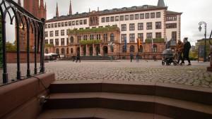 Die Stadt Wiesbaden als Beute