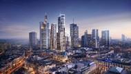 Ausblick: Mitten in Frankfurt sollen vier neue Türme entstehen (Mitte)