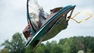 Wie im Flug: Wurfzelte machen dem Campingfreund das Leben leicht – zumindest beim Aufbau.