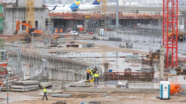 Terminal 3 nimmt Formen an