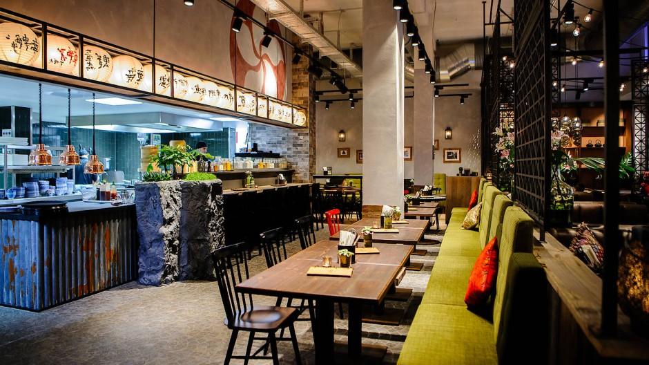 Keine Kunden: Bis auf zwei Restaurants mussten alle Läden der Asia-Kette Coa schließen.