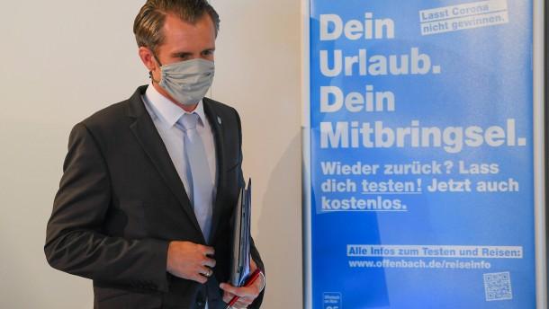 Offenbach verschärft Corona-Regeln wieder