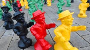 Einheitsfest mit Gorbatschow und Gauck