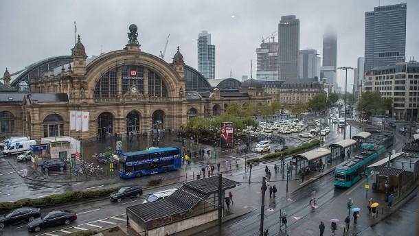 Frankfurter Hauptbahnhof wird zur Großbaustelle